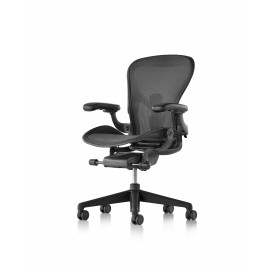 Aeron Remastered Herman Miller graphite toutes options version B