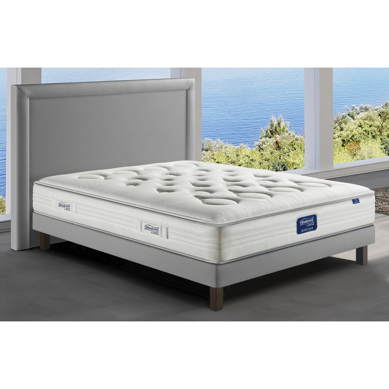 matelas feeling soft simmons beautyrest sensory la boutique du dos. Black Bedroom Furniture Sets. Home Design Ideas