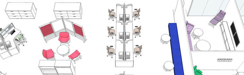 Plan aménagement ergonomie