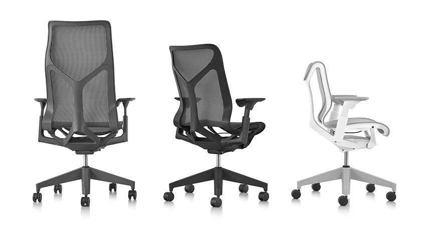 La gamme Cosm siège ergonomique Herman Miller