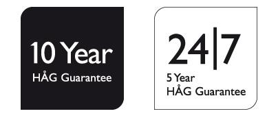 garantie 10 ans Hag